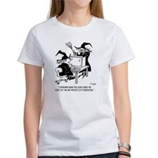 Witch Cartoon 4864 Tee