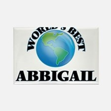 World's Best Abbigail Magnets