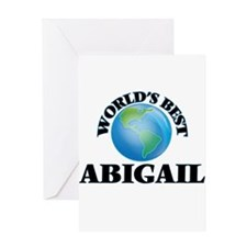 World's Best Abigail Greeting Cards