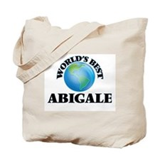 World's Best Abigale Tote Bag