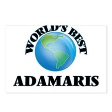 World's Best Adamaris Postcards (Package of 8)