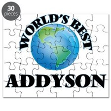 World's Best Addyson Puzzle