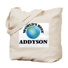 World's Best Addyson Tote Bag