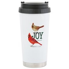 Holiday Cardinals Travel Mug