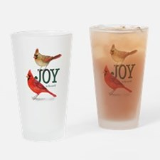 Holiday Cardinals Drinking Glass