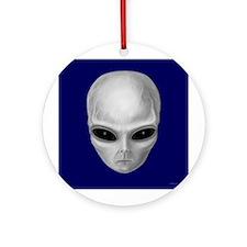 Alien Stare Ornament (Round)