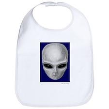 Alien Stare Baby Bib