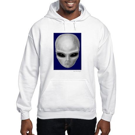 Alien Stare Hooded Sweatshirt (Front/Back Images)