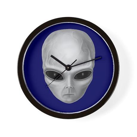 Alien Stare Wall Clock