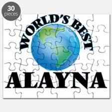 World's Best Alayna Puzzle