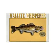Walleye Whisperer Rectangle Magnet