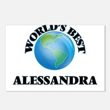 World's Best Alessandra Postcards (Package of 8)