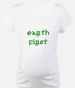 Earth First (green) Shirt