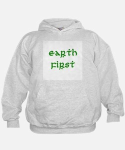Earth First (green) Hoodie