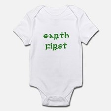 Earth First (green) Infant Bodysuit