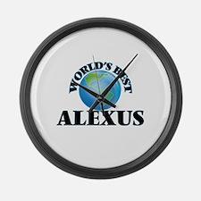 World's Best Alexus Large Wall Clock