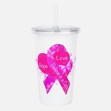 Believe in a Cure Acrylic Double-wall Tumbler