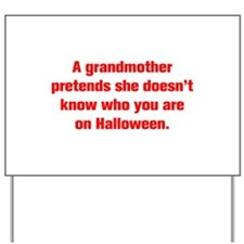 A grandmother pretends she doesn t know who you ar