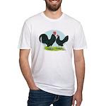 Black Dutch Bantams Fitted T-Shirt