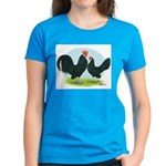 Black Dutch Bantams Women's Dark T-Shirt