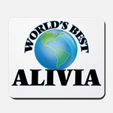 World's Best Alivia Mousepad