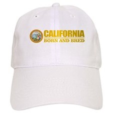 California Born and Bred Baseball Baseball Cap