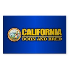 California Born and Bred Decal
