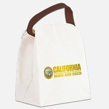 California Born and Bred Canvas Lunch Bag