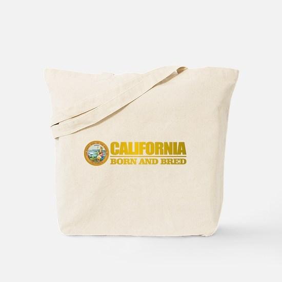 California Born and Bred Tote Bag