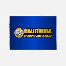 California Born and Bred 5'x7'Area Rug