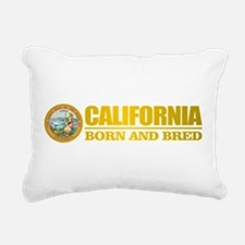 California Born and Bred Rectangular Canvas Pillow