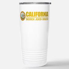 California Born and Bred Travel Mug