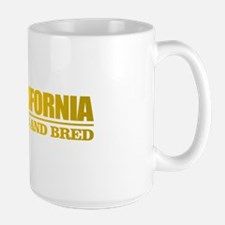 California Born And Bred Mugs