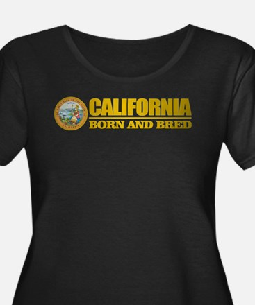 California Born and Bred Plus Size T-Shirt