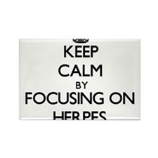 Keep Calm by focusing on Herpes Magnets