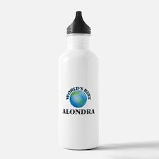 World's Best Alondra Sports Water Bottle