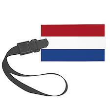 Netherlands Flag Luggage Tag