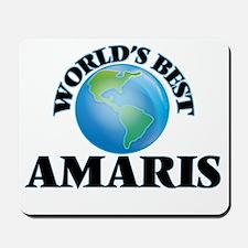 World's Best Amaris Mousepad