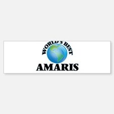 World's Best Amaris Bumper Bumper Bumper Sticker
