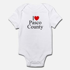 """I Love Pasco County"" Infant Bodysuit"