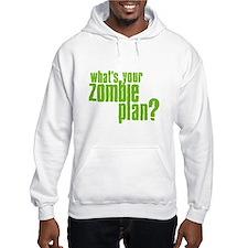 Zombie Plan Hoodie Sweatshirt