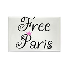 Free Paris Rectangle Magnet