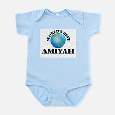 World's Best Amiyah Body Suit