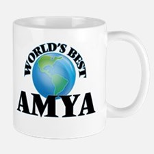 World's Best Amya Mugs