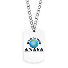 World's Best Anaya Dog Tags