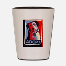 Adopt Shot Glass