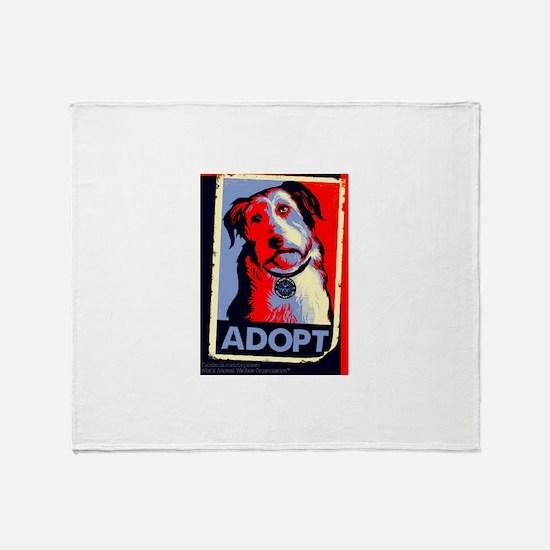 Adopt Throw Blanket