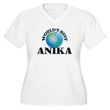 World's Best Anika Plus Size T-Shirt