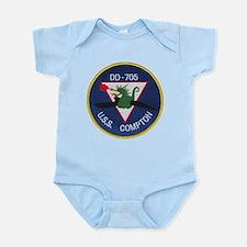 USS COMPTON Infant Creeper