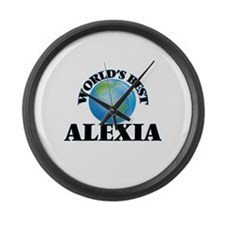 World's Best Alexia Large Wall Clock